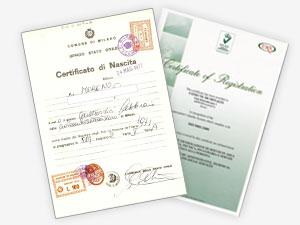 Traduzioni certificate a Firenze